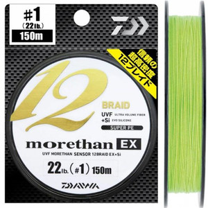 Плетеный шнур DAIWA MORETHAN 12 BRAID 150m # 1.0