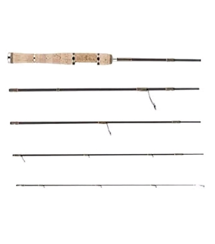 Brand: Abu Garcia Rod type: Spinning / Number of loops: 5 Main target: Trout Iwana Yamame Amago...