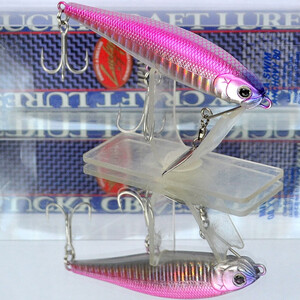 LUCKY CRAFT Sea Swim Anchovy 80 (Sinking 80mm 15g 1.5m) #Pink Back