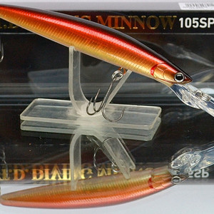 DAIWA T.D. Diving Minnow 105SP (Suspending 105mm 13.5g 2.5m) #spawning ghost