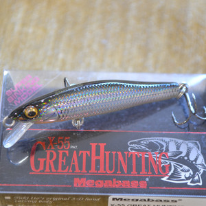 MEGABASS X-55 GREAT HUNTING цвет LASER GINKURO