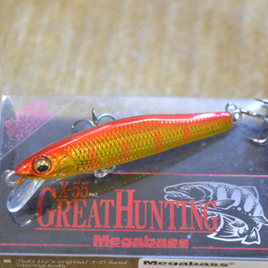 MEGABASS X-55 GREAT HUNTING цвет M AKA KIN