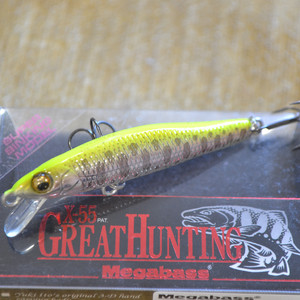 MEGABASS X-55 GREAT HUNTING цвет M CHART YAMAME