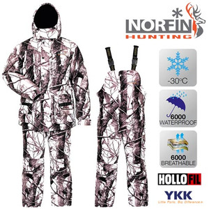 Norfin Hunting WILD SNOW -30 град. разм. S, XXL