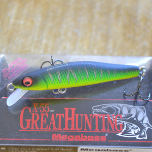 MEGABASS X-55 GREAT HUNTING цвет MAT TIGER