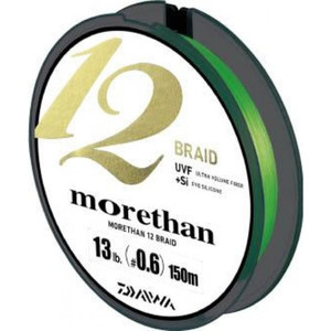 DAIWA MORETHAN 12 BRAID 150m # 0.6