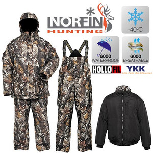 Костюм зимний Norfin Hunting NORTH STAIDNESS -40 град. разм. XL, XXL