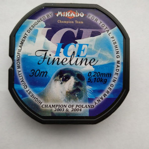 Леска мононить Mikado FINELINE ICE 0,20 (30 м) — 5.10 кг., шт