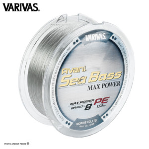 Плетеный шнур VARIVAS AVARI SEA BASS MAX POWER PE x 8 150м # 1.0