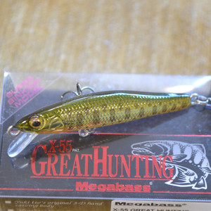 MEGABASS X-55 GREAT HUNTING цвет M CHAMPAGNE YAMAME