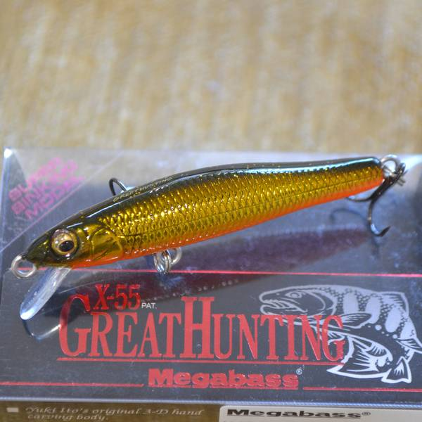 MEGABASS X-55 GREAT HUNTING цвет M MEGABASS KINKURO