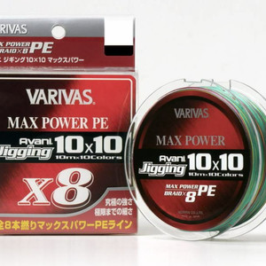 VARIVAS AVANI JIGGING 10x10 MAX POWER PE X8 200м # 0.8