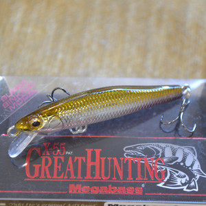 MEGABASS X-55 GREAT HUNTING M WAKASAGI